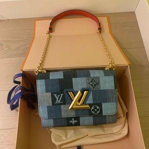 Louis Vuitton denim twist mm